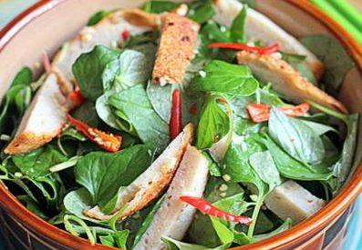 Cách làm món gỏi rau diếp cá ngon lạ miệng hấp dẫn