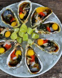 Hàu trứng cút wasabi bổ dưỡng khó cưỡng